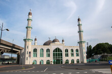 Mosque Taibah At The Bijlmer Amsterdam The Netherlands 19-6-2020