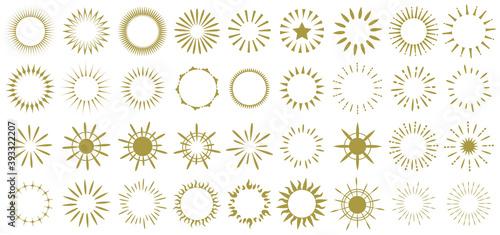 Fotografia 光の環フレーム 光背 後光 円光 光輪