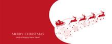 Christmas Banner Santa Claus I...