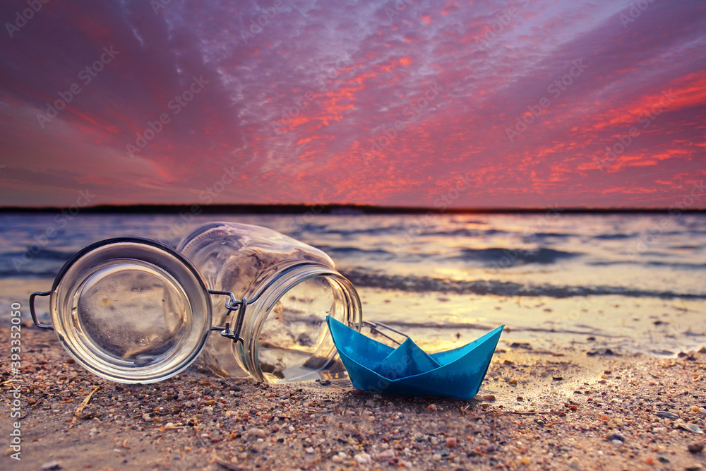 Fototapeta Freiheit am Meer