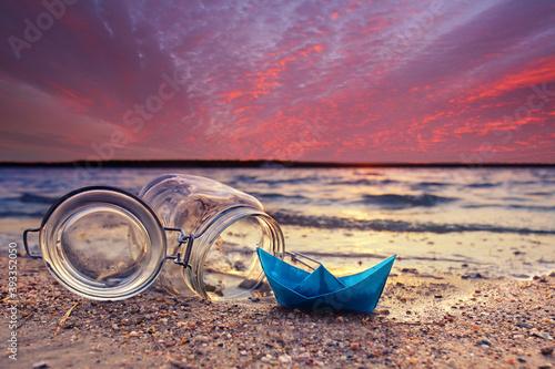 Fototapeta Freiheit am Meer obraz