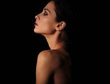 Beautiful Mysterious Woman In ...