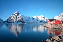 Lofoten Islands In The Winter, Norway