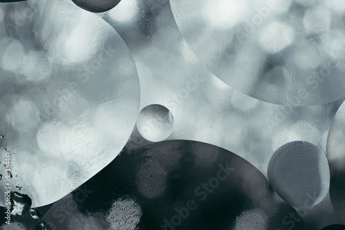 Foto shiny metallic texture, abstract background