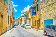 The Narrow Lane In Mosta, Malta