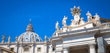 Vatican City With Cupola