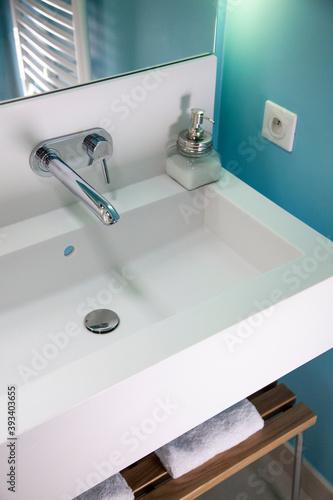 Cuadros en Lienzo lavabo de salle de bain