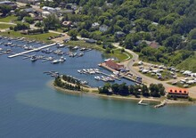 Aerial View Of The Boats At Th...