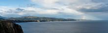 Jagged And Rocky Ocean Coast W...