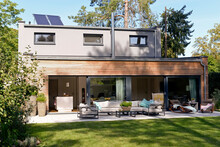 Modern Detached House With Ter...