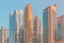 Modern Buildings Against Clear...