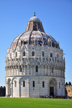 A View Of The Baptistry At Pis...