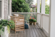 Southern Front Porch In The Sp...