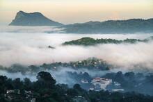 Hills Of Kandy In Sri Lanka