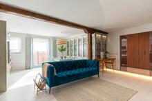 Living Room Interior Of Modern Cozy Home