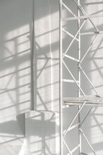 Modern White Studio.