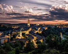 The City Of Bern In Switzerlan...