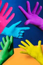 Colorfull Gloves