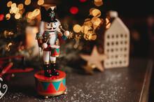 Dziadek Do Orzechów Zima święta Boże Narodzenie