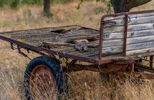 Old Tractor Trailer Abandoned ...