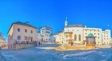 Panorama Of Main Courtyard Of ...