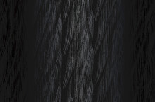 Luxury Black Metal Gradient Background With Distressed Twisted Rope, Cable Texture.