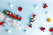 Set Of Christmas Decorations W...