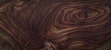 Texture Of Dark Brown Wood Plank. Background Of Wooden Surface