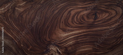texture of dark brown wood plank. background of wooden surface - fototapety na wymiar