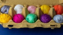 Mini Balls Of Colourful Wool I...