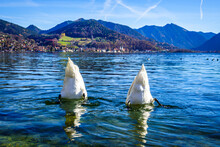 Famous Tegernsee Lake In Bavaria