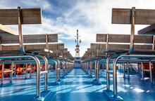 Part Of A Modern Passenger Ship