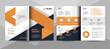 Creative business brochure template. Corporate business flyer template.