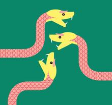 Three Snakes