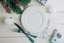 Christmas Table Place Setting ...