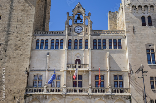 Cuadros en Lienzo Palace of the Archbishops (Palais des Archeveques), former medieval bishop palace (12th century), today city hall and museum