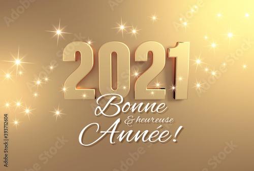 2021 Carte de voeux