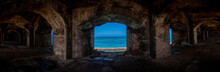 Blue Waters And Brick Arches Panorama
