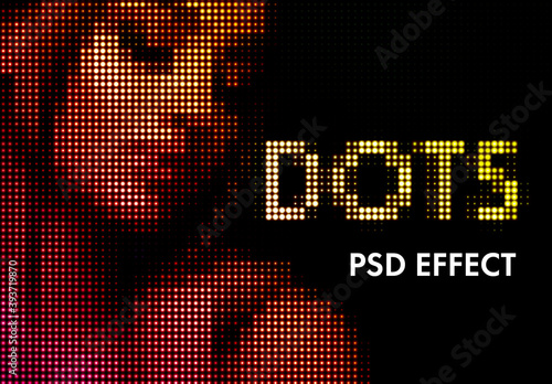 Dots Pattern Effect