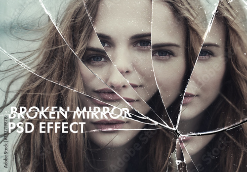 Broken Mirror Psd Effect