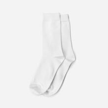 Double Socks Mockup Isolated On White Background