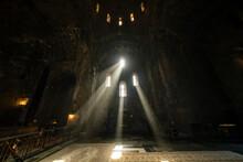 Interior Of Tatev Monastery, A 9th-century Armenian Apostolic Monastery In Syunik Province.