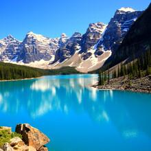 Beautiful Shot Of Banff National Park In Alberta, Canada