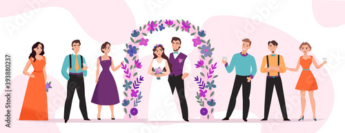 Photo Wedding Marriage Ceremony Horizontal