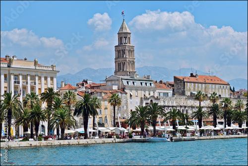 Split, Croatie Fototapet