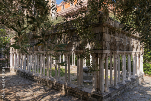 st andrew cloister ruins Canvas