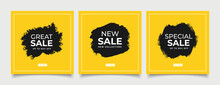 Special Sale Concept Banner Template Design. Discount Abstract Promotion Layout Poster. Super Sale Vector Illustration.