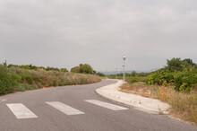Route Avec Passage Piétons