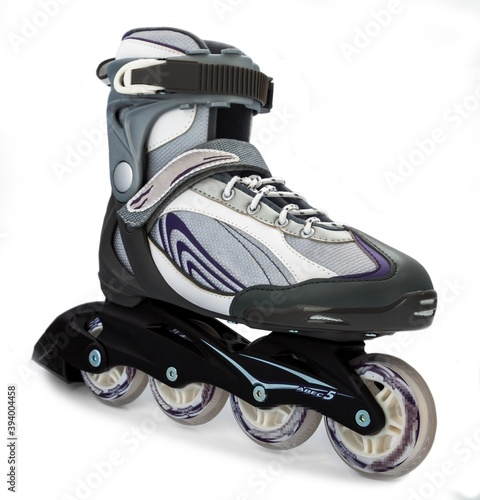 Fotografia A rollerblade or inline skate
