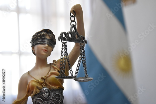 Fotografia La justicia es bien ciega